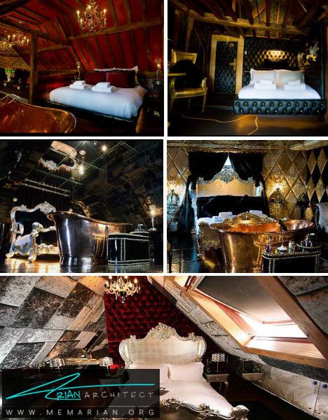 هتل خرس دیوانه در انگلستان -هتل عجیب و غریب