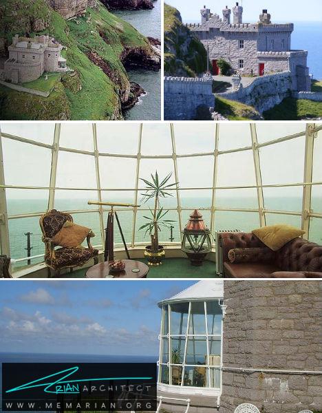 فانوس دریایی در ولز -هتل عجیب و غریب