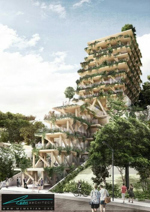 ساختمان تیمبر در سائوپائولو، برزیل - معماری سبز