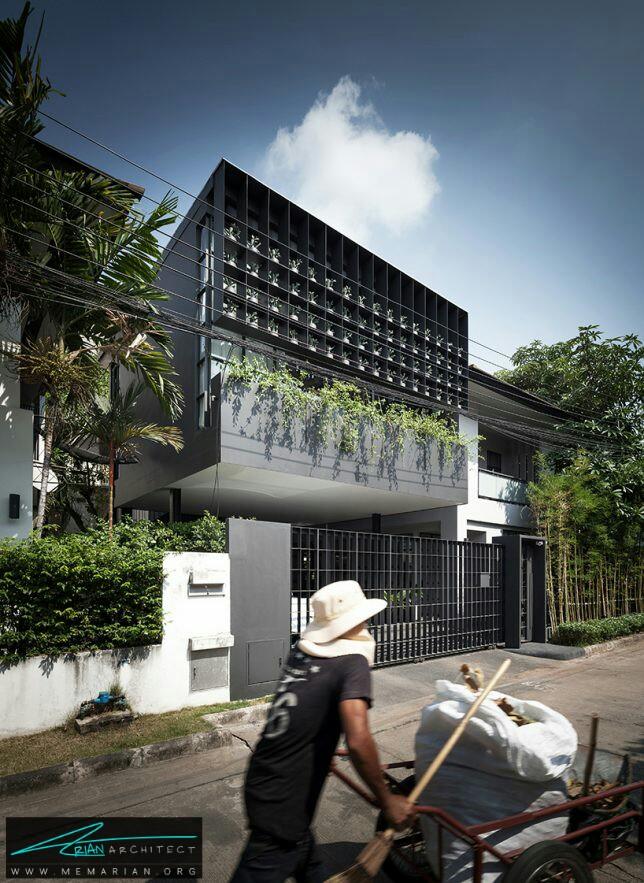 خانه قفس گل توسط استودیو مستعار در بانکوک، تایلند - معماری سبز