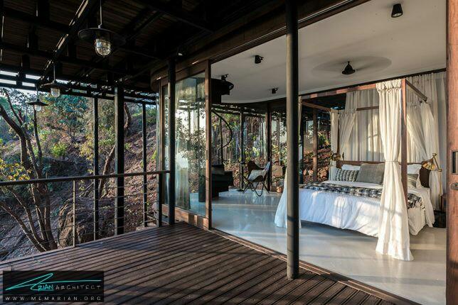 معماری خانه درختی توسط بریو، هند - معماری سبز