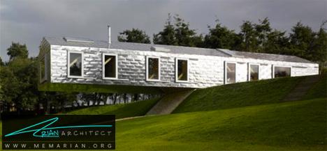 انبار معلق روی هوا -معماری معلق