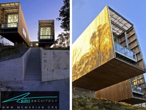 اتاقک های تلسکوپ-معماری معلق