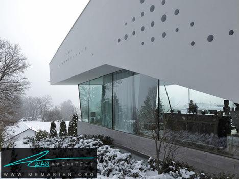 خانه R در آلمان -معماری معلق