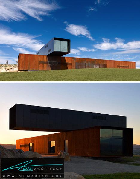 خانه دو طبقه در استرالیا-معماری معلق