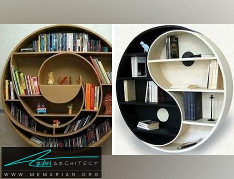 کتابخانه دایره ای-کتابخانه خلاقانه