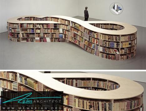 کتابخانه بی انتها -کتابخانه خلاقانه