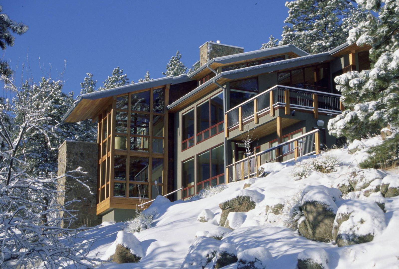 معرفی 7 نمونه از خانه های کوهستانی
