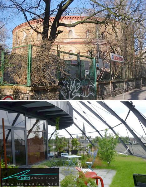 تبدیل پناهگاه جنگی به آپارتمان لوکس-سازه های جنگی بازسازی شده