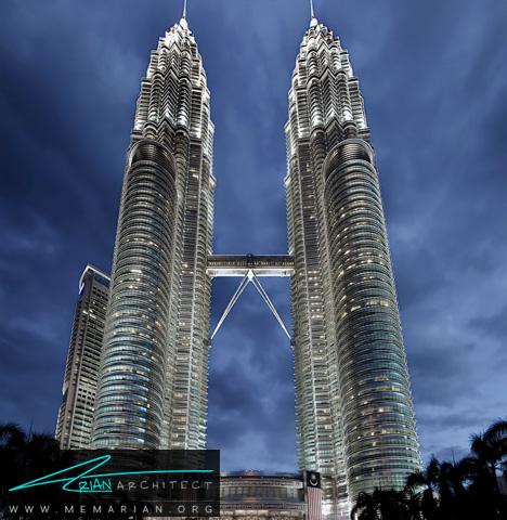 برج های دوقلو در مالزی- پل های آسمانی