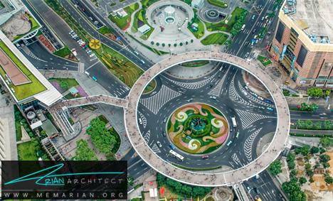 پل عابر پیاده دیوانه در چین- پل های آسمانی