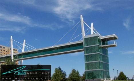 پل نور پردازی شده معلق- پل های آسمانی