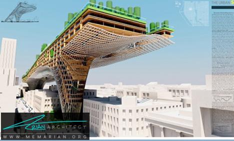 پل معلق کاربردی در روسیه- پل های آسمانی