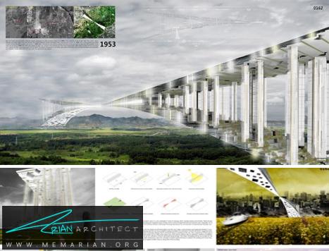 پل ارتباطی شبه جزیره کره- پل های آسمانی