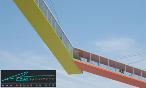 پل معلق روی آب - پل های آسمانی