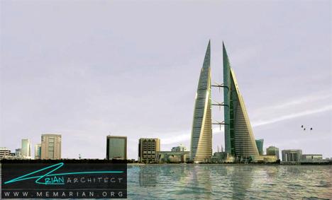 مرکز تجارت جهانی بحرین- پل های آسمانی