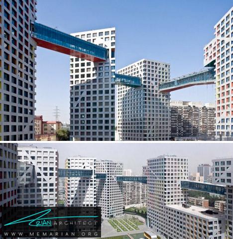 پیوند ساختمان ها- پل های آسمانی