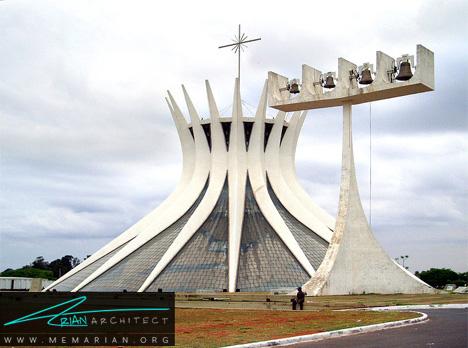 کلیسای جامع برازیلیا - معماری عجیب و غریب