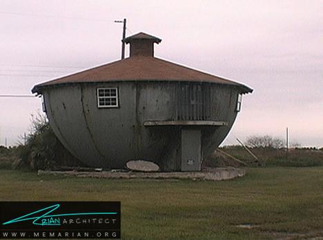 خانه کتری - معماری عجیب و غریب