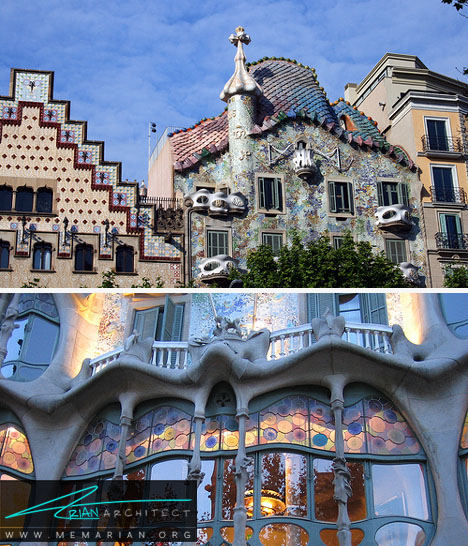کاسا بتلو - معماری عجیب و غریب