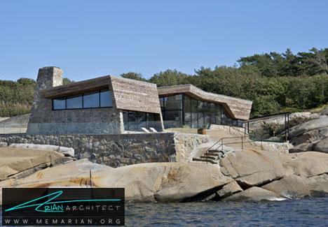 خانه تابستانی سنگی - خانه های ساحلی