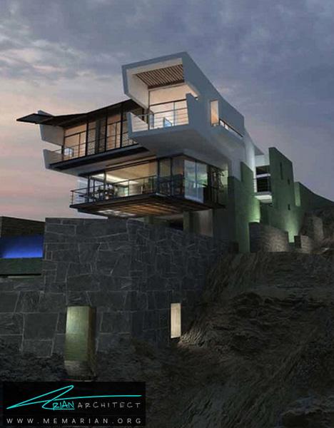 ویلای ساحلی مدرن - خانه های ساحلی