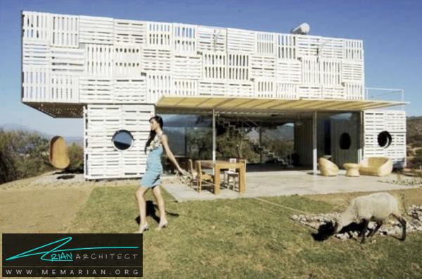 خانه کانتینری سازگار با محیط زیست -خانه کانتینری
