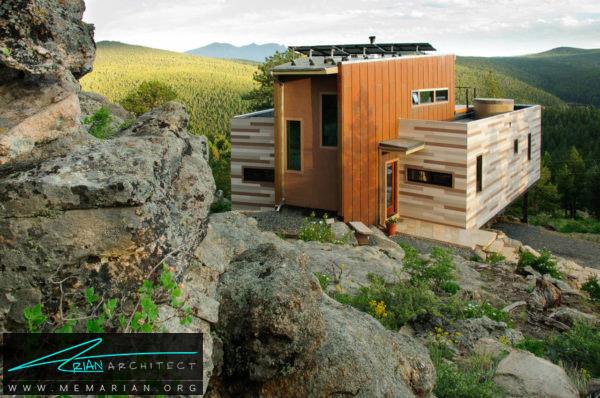 خانه ای با چشم انداز های باورنکردنی -خانه کانتینری