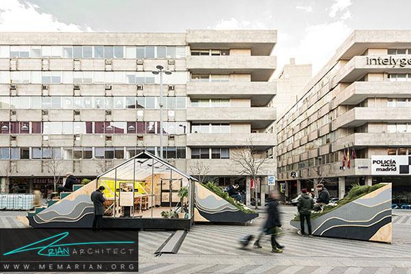 معماری متراکم قابل حمل و نقل