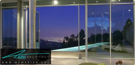 اقامتگاه شیشه ای - معماری شیشه ای