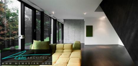 معماری شیشه ای مدرن - معماری شیشه ای