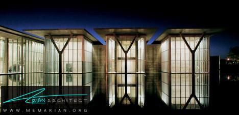 موزه هنر مدرن -معماری شیشه ای