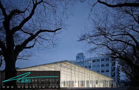 اتاق شیشه ای در ژاپن - معماری شیشه ای