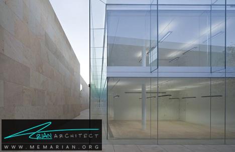سازه شیشه ای با ویژگی های منحصر به فرد- معماری شیشه ای