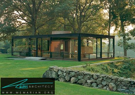 خانه شیشه ای فیلیپ جانسون-خانه شیشه ای