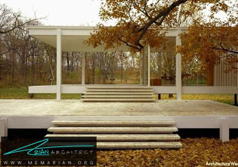 خانه شیشه ای مدرن-خانه شیشه ای