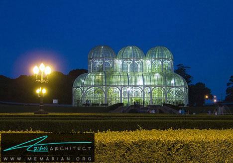 گلخانه کریستالی-خانه شیشه ای