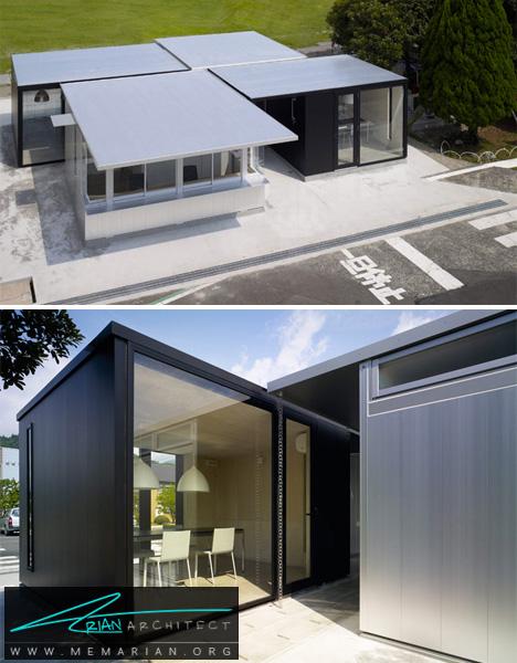 خانه سبک با صفحات آلومینیومی -خانه فلزی