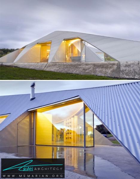 خانه ساحلی فلزی در استرالیا -خانه فلزی