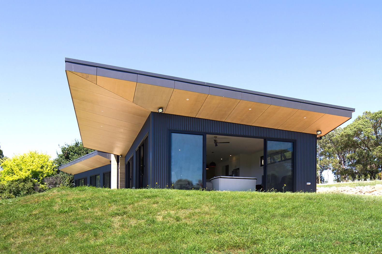 معرفی 15 خانه فلزی مدرن