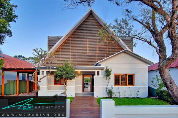 بازسازی خانه قدیمی در سیدنی استرالیا - بازسازی مدرن