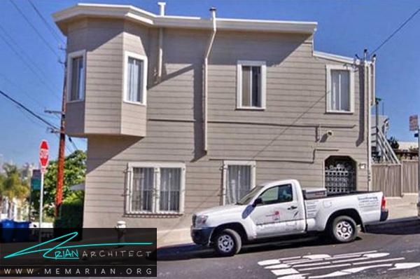 بازسازی خانه ای در نبش خیابان - بازسازی مدرن