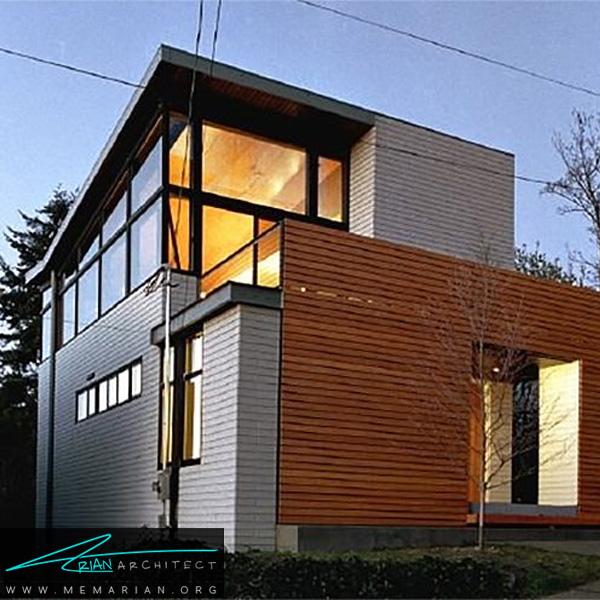 بازسازی خانه به صورت مدرن - بازسازی مدرن