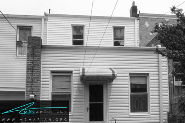 بازسازی مدرن خانه چوبی - بازسازی مدرن
