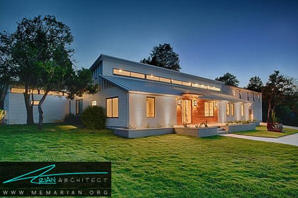 تبدیل خانه مزرعه ای به یک خانه مدرن و امروزی - بازسازی مدرن