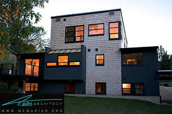 اضافه کردن طبقات در بازسازی مدرن خانه - بازسازی مدرن