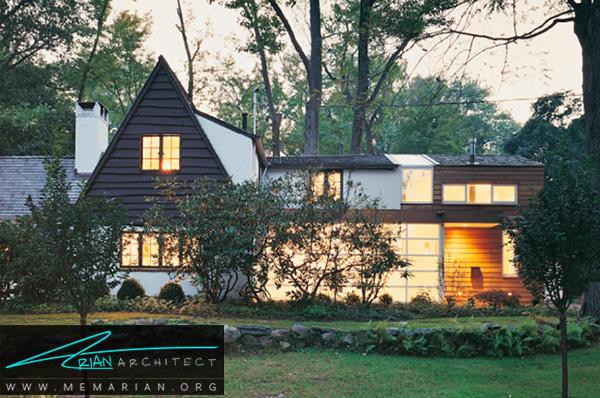 بازسازی مدرن خانه قدیمی - بازسازی مدرن