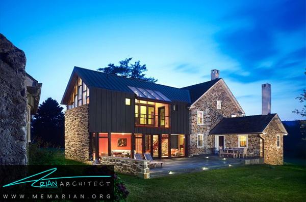 بازسازی مدرن خانه روستایی - بازسازی مدرن