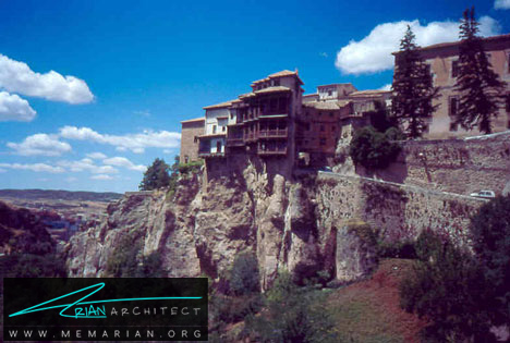 خانه های آویزان در اسپانیا -خانه کوهستانی