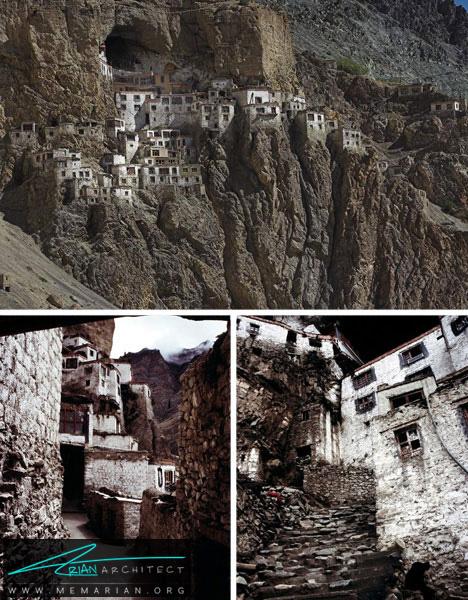 خانه های کوهستانی خطرناک در هیمالیا -خانه کوهستانی